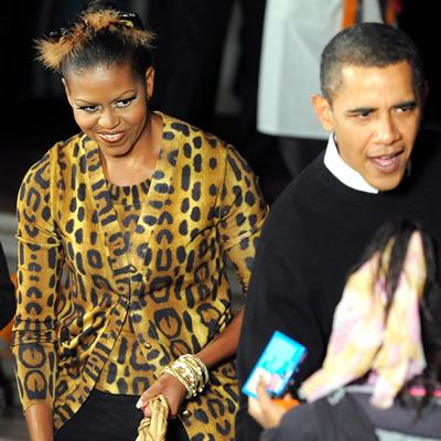 First Lady Michelle Obama Dresses Up for White House Halloween Party